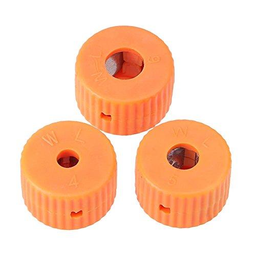 NELNISSA 3 stks Mini Plastic Schroevendraaier Magnetisering Ring Ophaalgereedschap Magnetizer