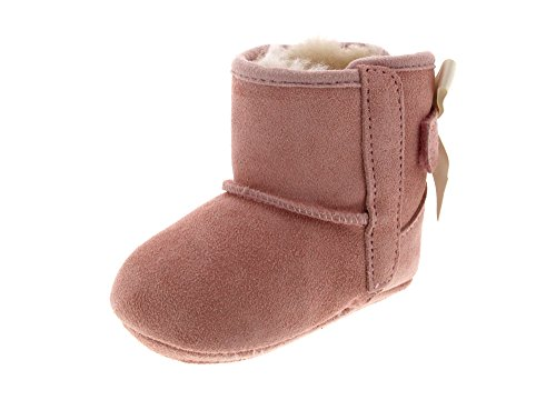 UGG Baby's Female Jesse Bow II Boot, Baby Pink, 0.5 (UK)