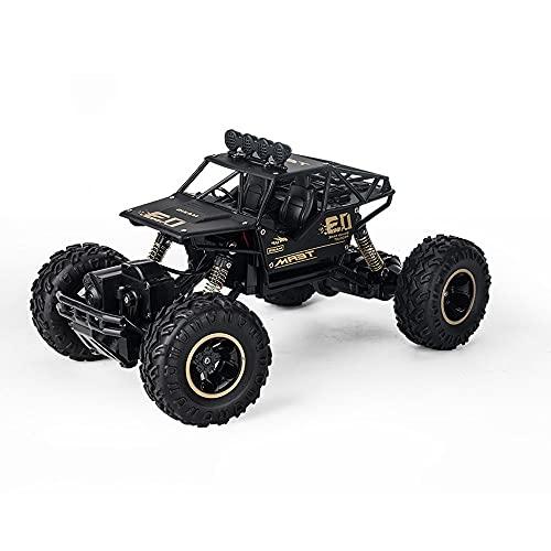 GDFDC Coche RC Eléctrico De 2.4G para Escalada, Vehículo RC Todo Terreno De Alta Velocidad, Camión RC De Doble Motor 4WD, Buggy RC Bigfoot Monster, Regalos De Juguete para Niños Y Niñas