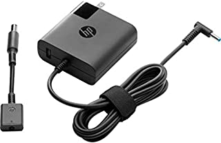 HP 19.5V 4.1A 90W and USB 5V 2A 10W Travel AC Adapter for HP Envy Touchsmart Sleekbook 15 17 M6 M7 Series; HP Pavilion 11 14 15 17, HP Stream 11 13 14, HP Elitebook Folio 1040, HP Spectre X360 13 15