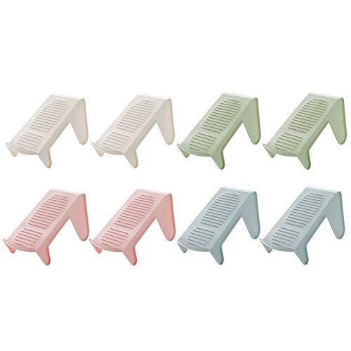 Preisvergleich Produktbild ZCForest Der Doppeldecker Schuh Regal Plastik Einteiler Schuh Inhaber Einen Modernen Wohnzimmer Garderobe Einfachen Schuh Regal Gemischte 8 Pakete
