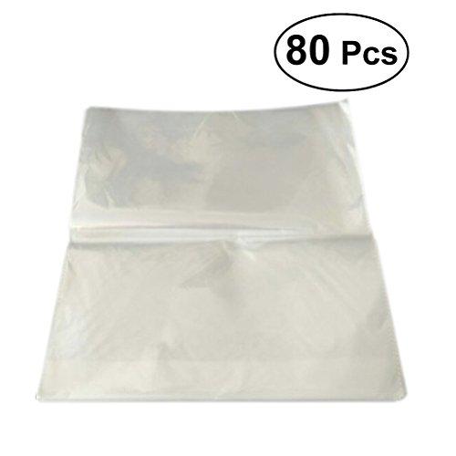 Ultnice sachets en cellophane Violoncelle Wrap clair Pouch Pain Cadeau Sacs pour récipient Environ 80 pièces 30 x 32 cm