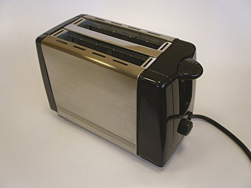 Swiss Luxx Low Wattage Caravan Toaster - Stainless Steel