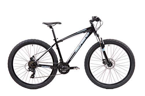 F.lli Schiano Thunder, Bici MTB Uomo, Nero-Blu, 27.5'