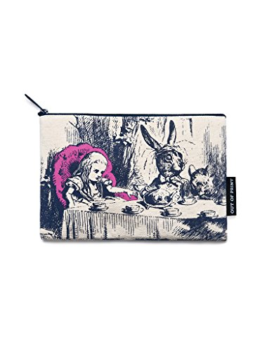 Out of Print - Alice in Wonderland - Zipper Pouch