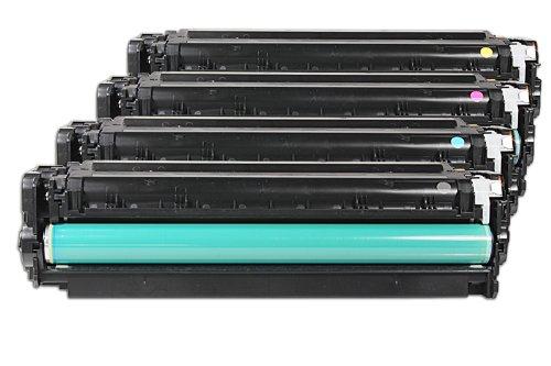 Ricostruita per Canon I-Sensys MF 8550 cdn - 718 / 2659B002 - Toner set nero, ciano, magenta, giallo - Per ca. 1 x 3.500 & 3 x 2.800 paginas (5% copertura)