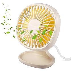 powerful USB mini desktop fans, TekHome gifts for mothers for women, multi-speed desktop fans for office homes, desks …