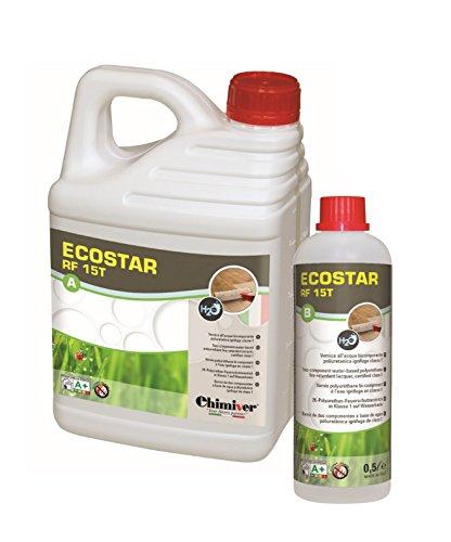 Chimiver® - ECOSTAR RF 15T (A+B) 5.5 L   Vernice poliuretanica ignifuga bicomponente all'acqua per...