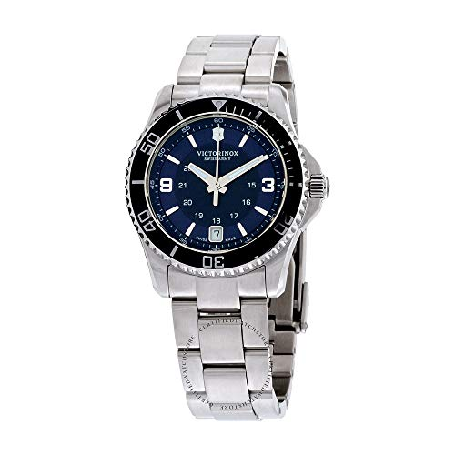 Victorinox Mujer Maverick Small - Reloj de Buceo de Cuarzo analógico de fabricación Suiza 241609