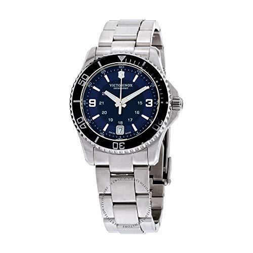 Victorinox Damen Maverick - Analoge Quarz Swiss Made Armbanduhr 241609