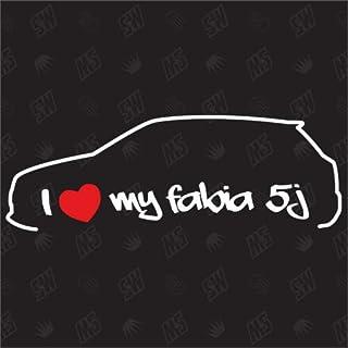 Suchergebnis Auf Für Auto Skoda Fabia Aufkleber Merchandiseprodukte Auto Motorrad