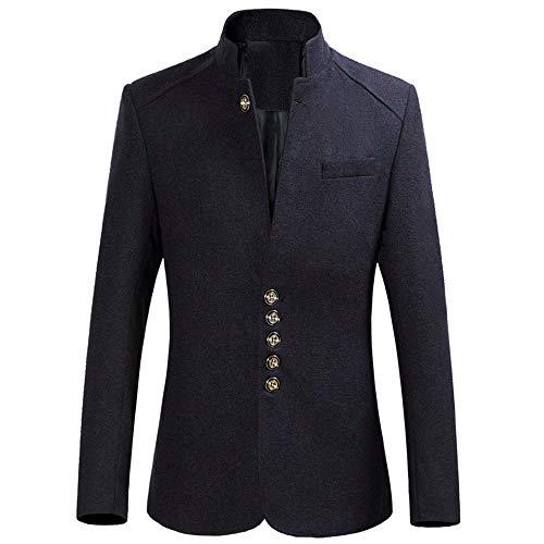 Jackenmantel Herren Steampunk Vintage Tailcoat Buttons Jackenmantel Outwear Tops für...