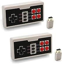 Cooldiy 2PC NES Controller Wireless for Nintendo Classic Edition Mini