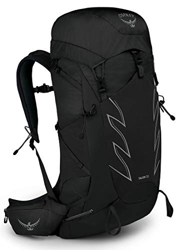 Osprey Talon 33 Zaino da Hiking per Uomo, Stealth Black - L/Xl
