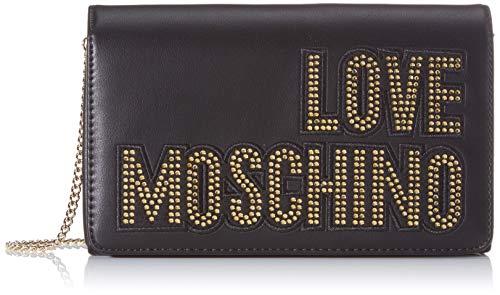 Love Moschino Jc4091pp1a, Borsa a Mano Donna, Nero (Nero), 6x14x22 cm (W x H x L)