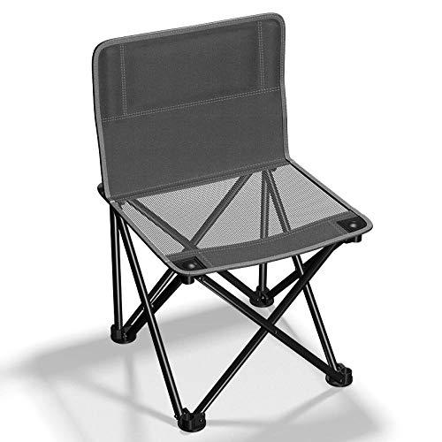 DX Table Pliable Chaise de Plage Oxford Portable d'extérieur, Trompette d'extérieur - Gems Black [Small] - Urban Grey
