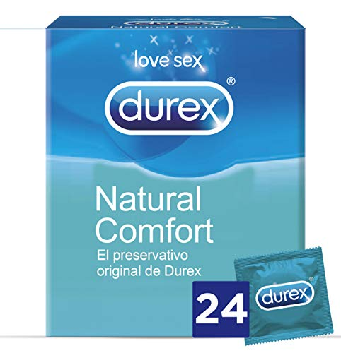 Durex Preservativos Originales Naturales Natural Comfort -