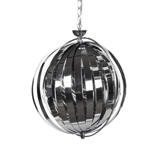 Lampe suspension design Selah - Chrome