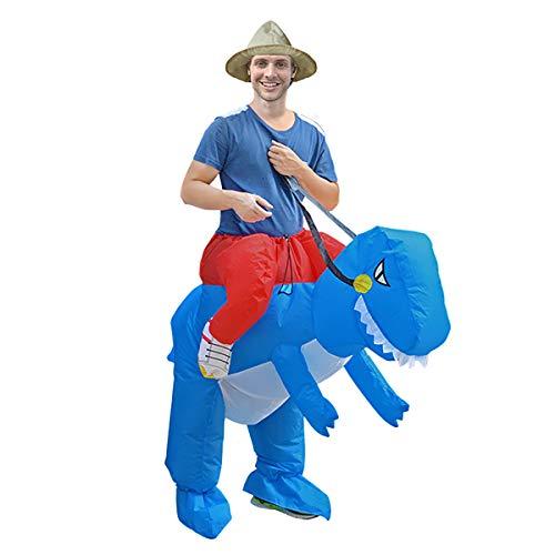 Amzyoyo Traje de Dinosaurio de Rana Hombre u. Mujer, Carnaval de Carnaval, Disfraces de Carnaval, Regalo de cumpleaños para Adultos, Disfraz Inflable de Halloween