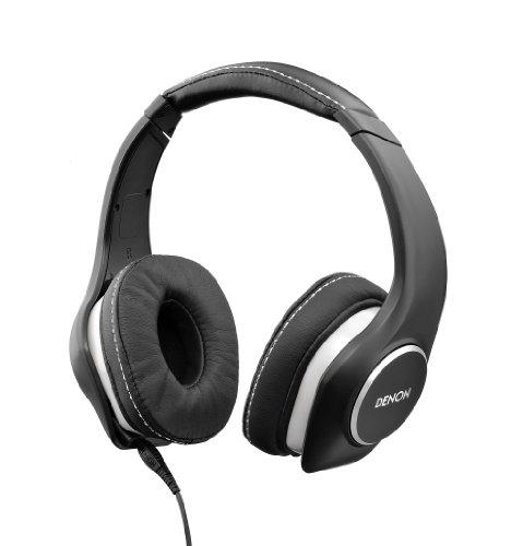 Denon AH-D340 MusicManiac On-Ear-Kopfhörer schwarz