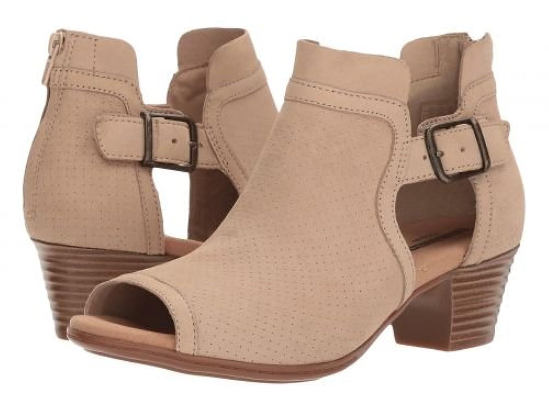 何かいつでも薄いClarks(クラークス) レディース 女性用 シューズ 靴 ブーツ アンクルブーツ ショート Valarie Kimble - Sand Nubuck [並行輸入品]