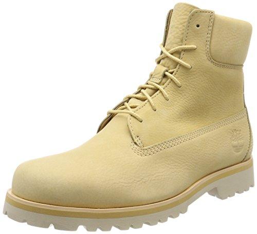 Bota Timberland amarillo pálido para mujer
