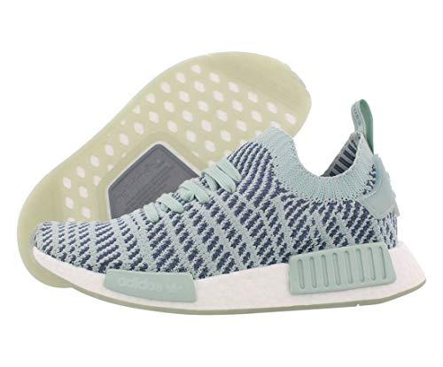 adidas Originals NMD R1 STLT PK Running Shoes Grey/White (10 B(M) US)