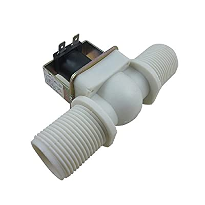 "DIGITEN 1"" DC 12V Electric Solenoid Valve Normally Closed N/C Water Inlet Flow Switch by DIGITEN"