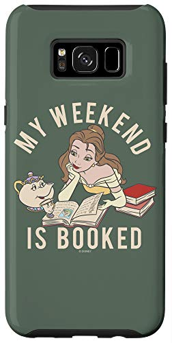 Galaxy S8+ Disney Beauty & The Beast Belle My Weekend Is Booked Case