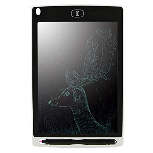 rongweiwang 8,5-Zoll-LCD Writing Tablet elektronische Notizblock Zeichnung Grafikkarte LCD Writing Tablet Forum Nachricht Platte Handschrift Pad Kids Family Memo