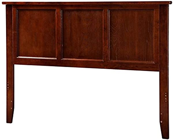 Leo Amp Lacey Full Panel Headboard In Walnut