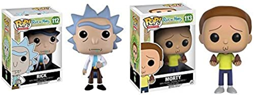 precios mas bajos Rick and Morty Morty Morty Pop  Vinyl Figures Set of 2 by Rick and Morty  calidad fantástica
