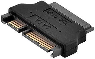 DealMux Micro SATA 7+9P Vrouwelijke naar SATA 7+15P Mannelijke Adapter voor 1.8 SSD 3.3/5V Drivers
