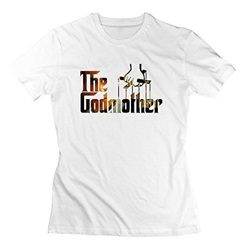 Nana-Custom Tees -  T-shirt - Donna bianco XXL