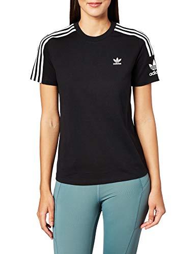 adidas Lock Up tee T-Shirt, Mujer, Black, 46