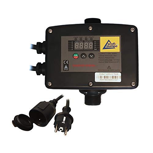 INVERTER PRESSCONTROL PRESSOSTATO REGOLATORE DI PRESSIONE PRESS CONTROL Regolatore di flusso per pompa autoclave, pompa sommersa per pozzi | 750W | 230V (PRESSCONTROL INVERTER 2-0,75KW)