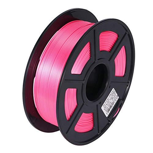 Night K Silk PLA Consumables 3D Printer Consumables Printing Pen Filament Flexible Consumables Accuracy +/- 0.02 mm, Pink