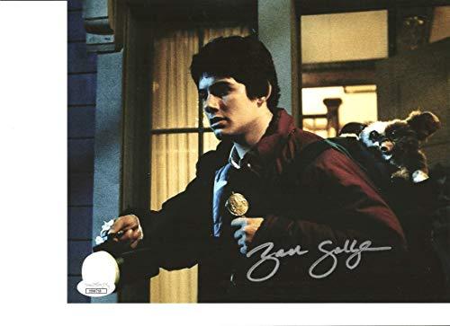 Zach Galligan signed 8x10 Photo Gremlins Billy Gizmo JSA Authentication