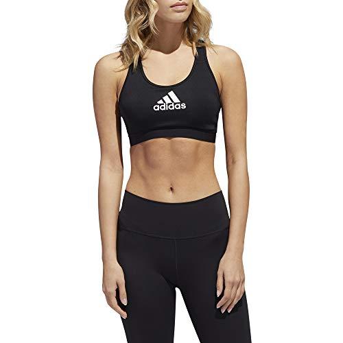 adidas Alphaskin Aeroready - Sujetador de Entrenamiento para Pilates y Yoga, Soporte Medio para Mujer