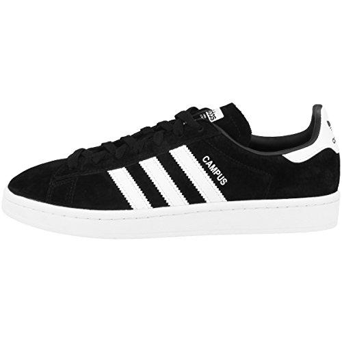 Adidas Campus Bz0084, Zapatillas Hombre, Negro (Core Black/Footwear White/Chalk White 0), 42 EU