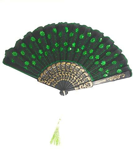 sequin hand fans bulk - 5