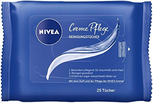 Nivea Creme Pflege Reinigungstücher, 25 Tücher