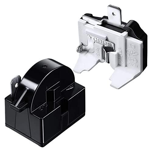 Heritan QP2-4.7 PTC Starter Relay 1 Pin Refrigerator Starter Relay y 6750C-0005P Protector de sobrecarga de refrigerador