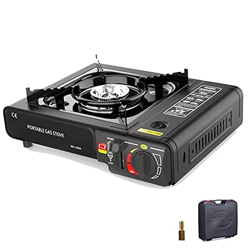 Camping Accessories Portable Gas Grill - RFAIKA Outdoor Windproof Butane Camp Stove, Can use portable gas tanks and liquefied gas tanks