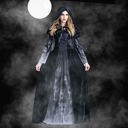 Xwenx Traje de Las Mujeres Cosplay, Vestido de Mujer Cosplay Vestido Disfraces de Halloween, Disfraces de Cosplay Anime Cosplay Disfraces Conjunto Halloween,XL