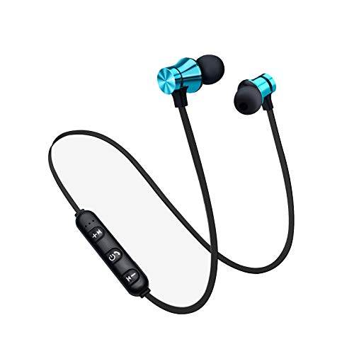 Earbuds Headphones with Microphone,Earbuds Wired Stereo Earphones in-Ear Bass Earbuds, Compatible with iPhone and Android Smartphones,iPod,iPad, MP3 Players,Fits All 3.5mm Interface (Blue)