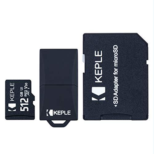 512GB MicroSD Speicherkarte Micro SD Kompatibel mit HTC 10, U12+ U12 Plus, U11+ U11 Plus, U19e, U11, U Ultra, U12 Life/One ME, S9, M9s, X9 / Desire 12, 12s, 19+ 19 Plus, 12+ 12 Plus Telefon | 512 GB