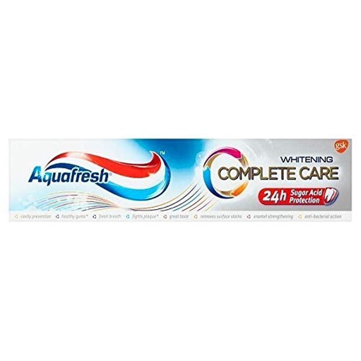 しない乳白雄弁な[Aquafresh ] アクアフレッシュ完全なケア美白100ミリリットル - Aquafresh Complete Care Whitening 100ml [並行輸入品]