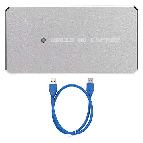 Surebuy Caja de Captura de Video USB 3.0 Grabador de transmisión en Vivo Tarjeta de adquisición de Video para Windows/Mac