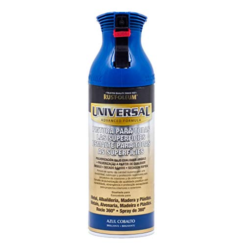 Spray Universal Brillante Rust-Oleum 400ml - Azul Cobalto